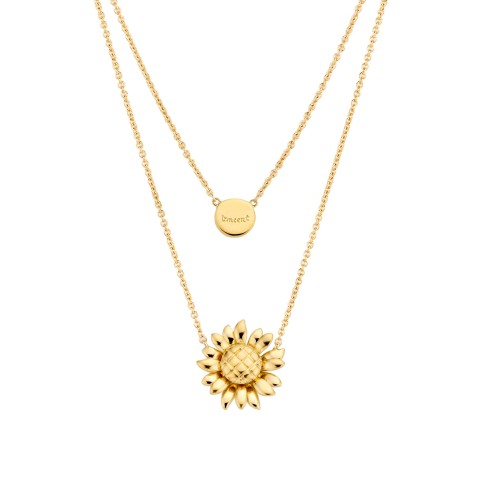 Van Gogh Gassan® Golden necklace Sunflowers