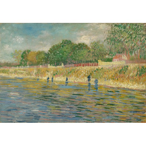 Van Gogh Giclée, Bank of the Seine