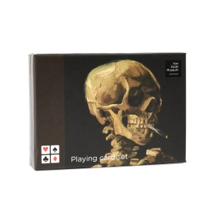 Van Gogh Playing cards Head of a Skeleton