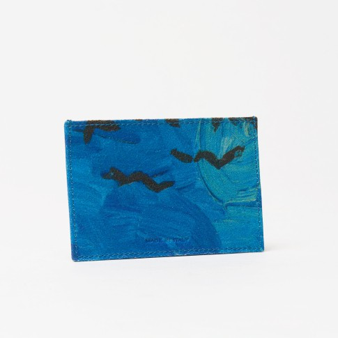 Van Gogh Hester van Eeghen® leather creditcard holder Crows