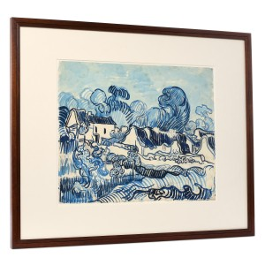 Van Gogh Facsimile Landscape with Houses