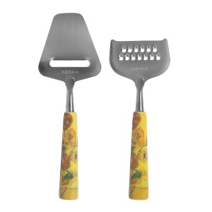 Cheese set mini Van Gogh Sunflowers