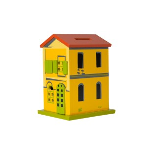 Moneybox Yellow House