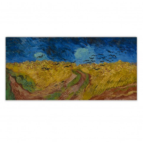 Van Gogh Canvas L Wheatfield with Crows