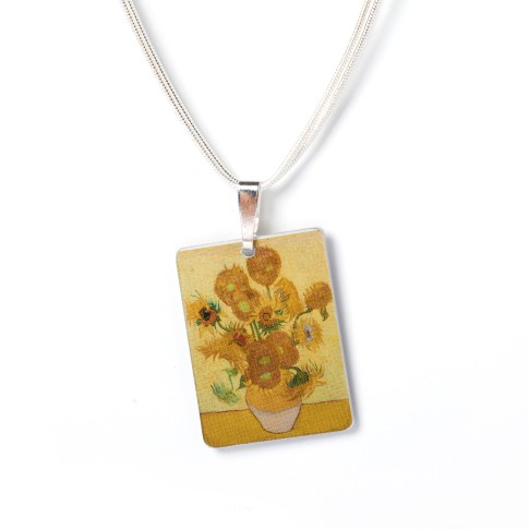 Van Gogh Necklace Sunflowers