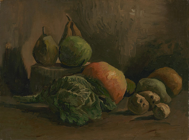 Vegetables by Vincent Van Gogh Giclee Fine Art Print Reproduction on Canvas
