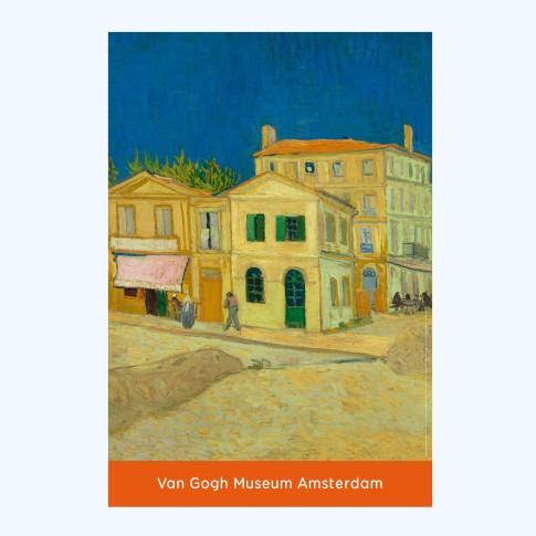 Van Gogh Poster Yellow House - Van Gogh Museum shop