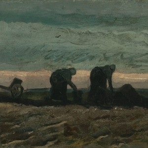 Van Gogh Giclée, Women on the Peat Moor