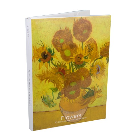 Van Gogh Notecard wallet Flowers