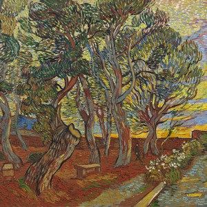 Van Gogh Giclée, Garden of the Asylum