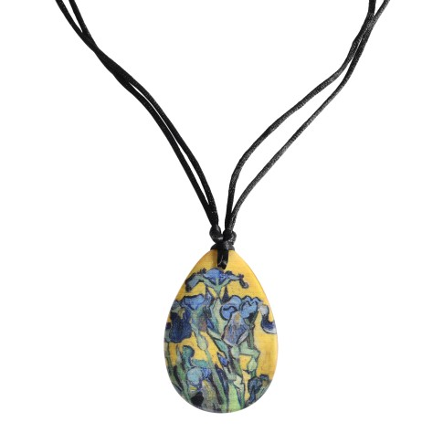 Van Gogh Necklace Irises