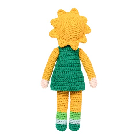 Doll crochet Sunflowers