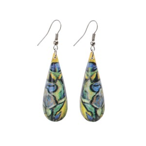 Van Gogh Earrings Irises