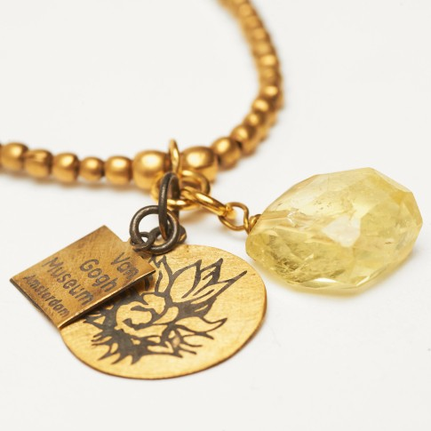 Van Gogh A Beautiful Story® Necklace Anju Sunflower