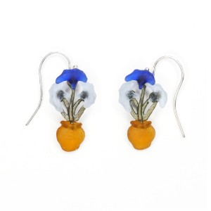 Van Gogh Michael Michaud® Hook earrings Irises