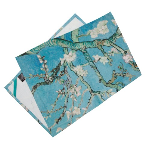 Van Gogh Tea Towel Almond Blossom