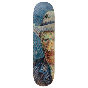 The Skateroom x Van Gogh Museum® Single, Self-Portrait with Grey Felt Hat