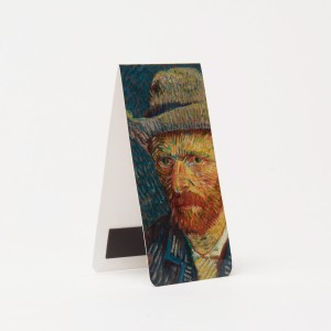 Van Gogh Bookmark magnetic, VG Selfportrait