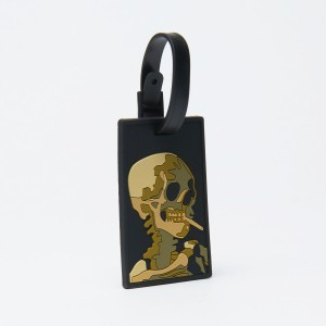 Van Gogh Bag tag Skull