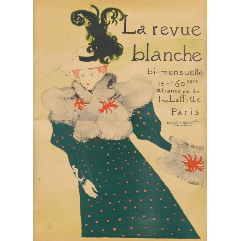 Poster for the journal La Revue blanche