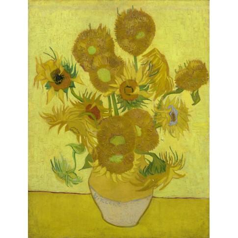Van Gogh Postcard Sunflowers