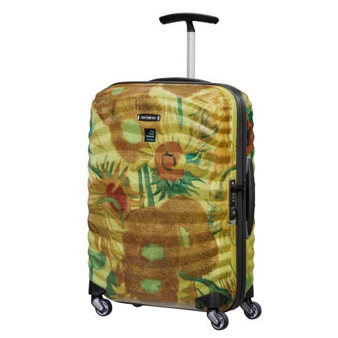 Van Gogh Samsonite Lite-shock spinner 55 cm, Sunflowers