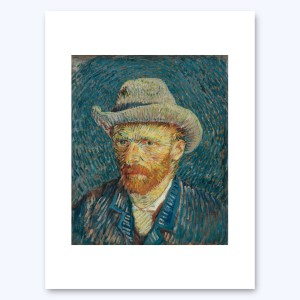 Van Gogh Print S Self-Portrait