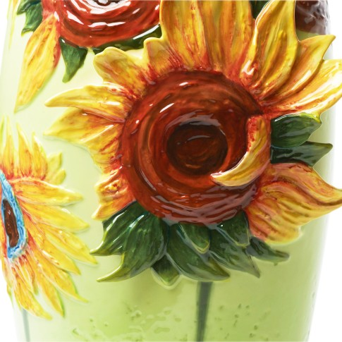 Van Gogh Franz Collection® Vase porcelain Sunflowers