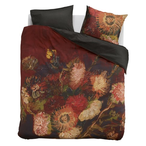 Duvet cover Gladioli red, Beddinghouse x Van Gogh Museum®