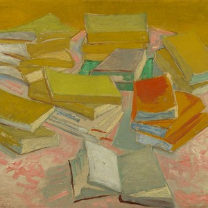 Van Gogh Giclée, Piles of French Novels