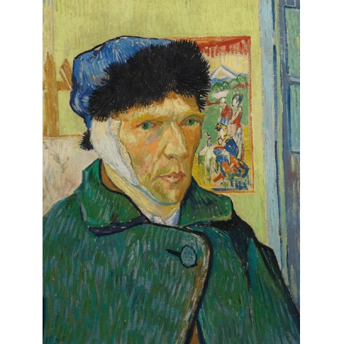 Van Gogh Print S Self-Portrait with Bandaged Ear