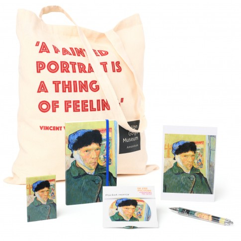 Gift set In the Picture, Van Gogh Self-Portrait with bandaged ear