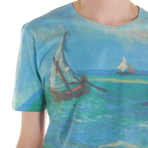 Van Gogh T-shirt men Seascape