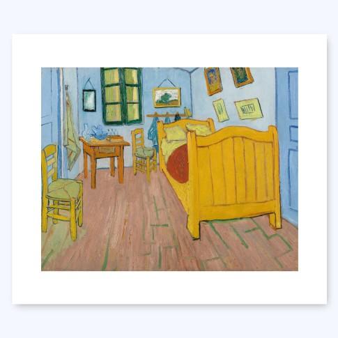 Van Gogh Print L The Bedroom Van Gogh Museum Shop