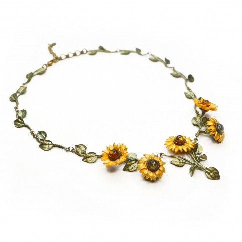 Van Gogh Michael Michaud® Necklace Sunflowers