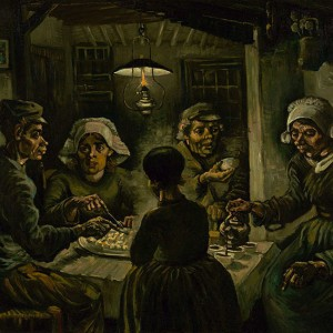 Van Gogh Giclée, The Potato Eaters