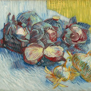Van Gogh Giclée, Red Cabbages and Onions