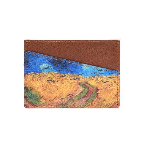 Van Gogh Recife Paris® Leather card holder Crows