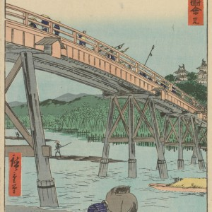 Van Gogh Giclée, Okazaki: Yahagi Bridge Over the Yahagi River