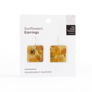 Van Gogh Earrings Sunflowers