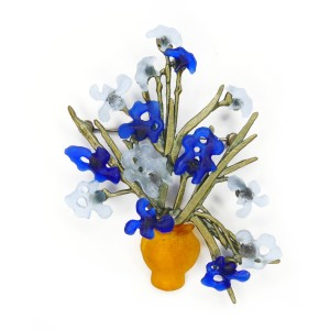 Van Gogh Michael Michaud® Brooch Irises