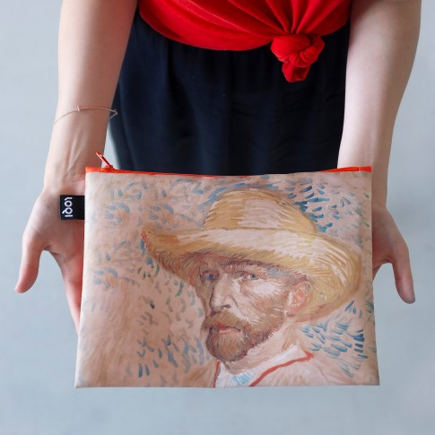 LOQI x Van Gogh Museum Zip pockets set