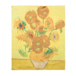 Van Gogh Lens cloth Sunflowers