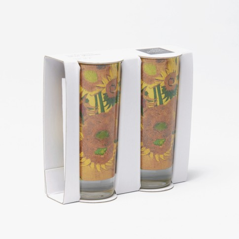 Van Gogh Shotglasses Sunflowers