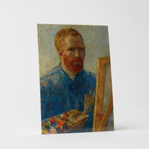Van Gogh Card Self-Portrait as an Artist