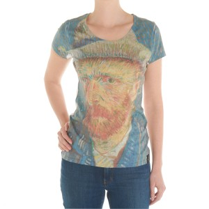 Van Gogh T-shirt Self-Portrait women