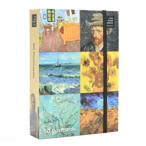 Van Gogh Postcard box highlights
