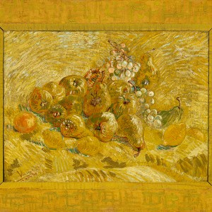 Van Gogh Giclée, Quinces, Lemons, Pears and Grapes