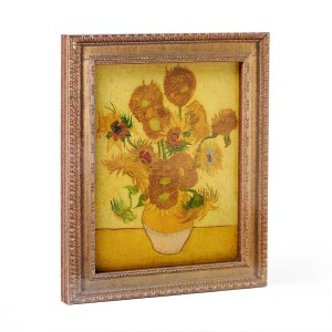 Framed magnet Van Gogh Sunflowers