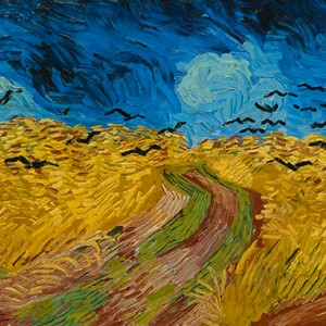 Van Gogh Giclée, Wheatfield with Crows
